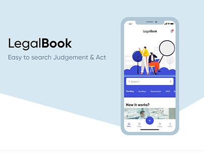 Legal Book - IOS App Design
