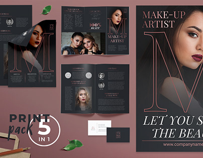 Makeup Artist Templates Suite