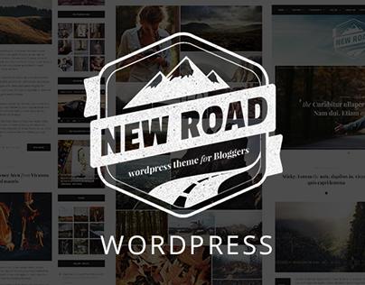 NewRoad - A Responsive WordPress Blog Theme