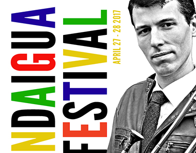 CA Jazz Fest Poster