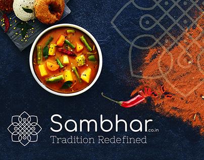 Sambhar.co.in Logo Design