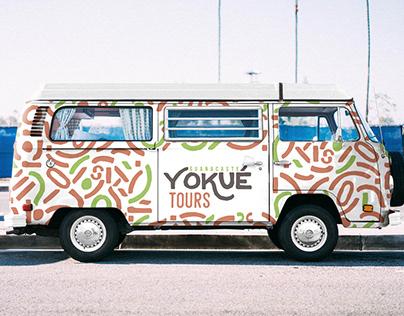 Yokué Tours Guanacaste   Branding