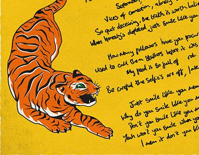 'SLYMI' Lyric Poster // Superego