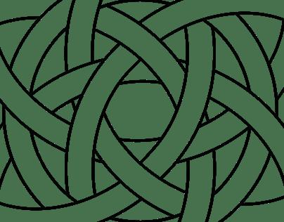 Double Celtic Knot Logo