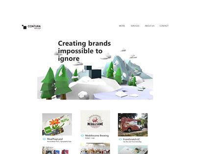 Contura design ■ Landing Page