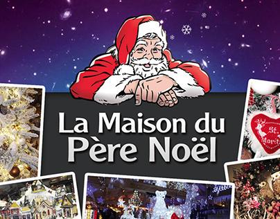 La Maison du Père Noël / Flyer