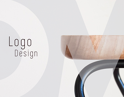DM furniture Logo Design