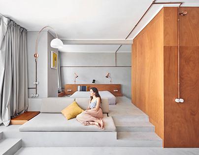 Marina Apartment, Barcelonaby Cometa Architects