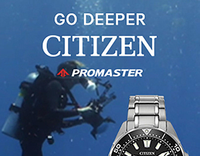 Citizen Promaster Digital Ad Campaign