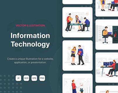 Information Technology Illustrations
