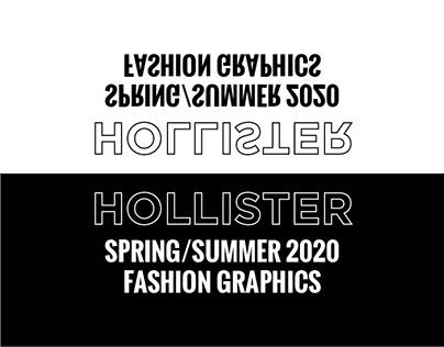 Hollister Spring/Summer 2020 Graphics