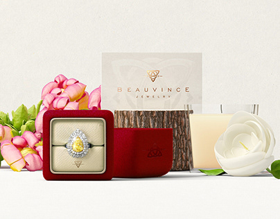 Brand Logo & Identity | Beauvince Jewelry