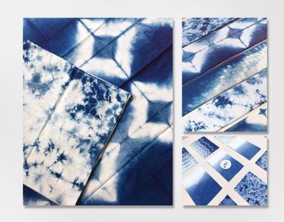 藍染 Blue dyeing