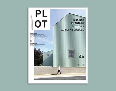 PLOT #44 - Editorial Design