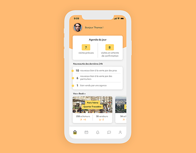 App agents immobiliers
