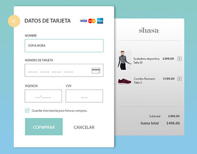 Credit card check out #dailyui