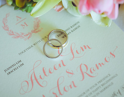 Wedding Invitation: Aileen & Marlon
