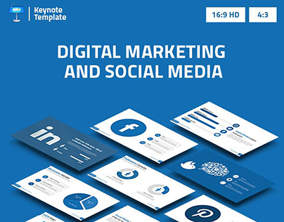 Digital Marketing and Social Media Keynote Template