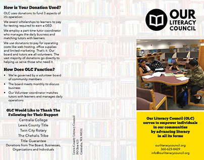Our Literacy Council Brochure