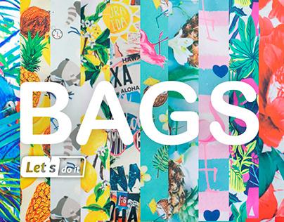 Разработка принтов для коллекции сумок
