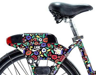 BIKETOWN x Nike LAFN x City of Portland LHM bike