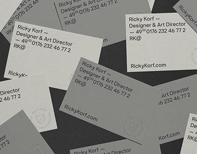 Ricky Korf - Branding