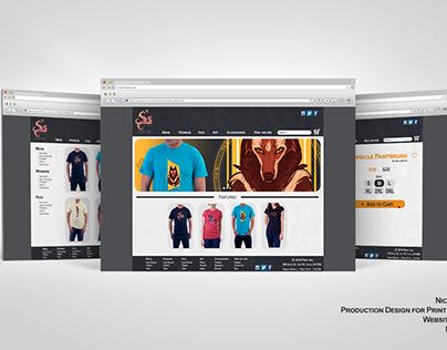 Paint Inc. Website Design