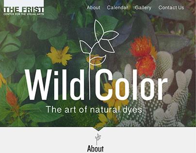 Wild Color Exhibit Site