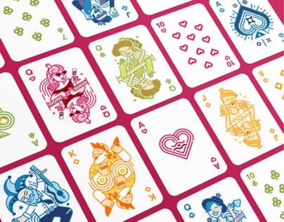 Ikano Playing Cards