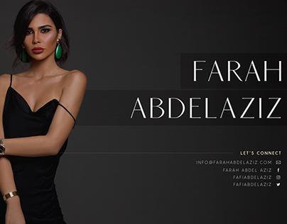 Farah Abdel Aziz Media Kit