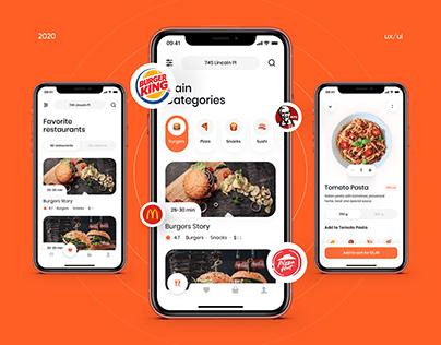 Food Delivery App | UX/UI Design