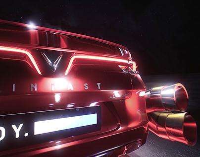 Vinfast Cyber Concept - Virtual Concert - Teasing