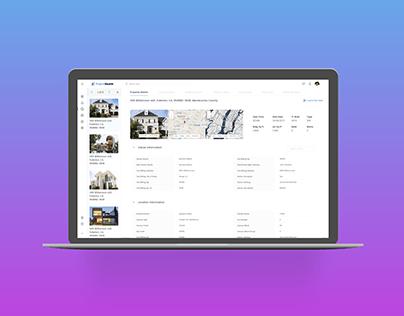 Property Management Dashboard UI/UX Design
