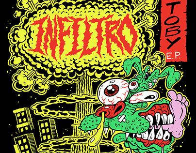 Infiltro - Toby: Album Cover