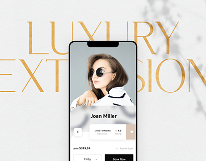 App for lash extensions salon