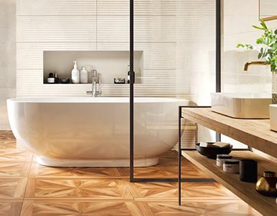 CG Bathroom Tiling Set