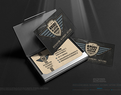 KRUG'S KLASSIK GARAGE • The Business Card