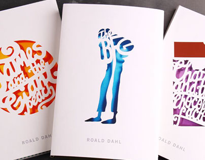 Roald Dahl ~ book cover series