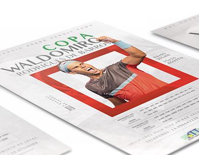 Poster - Torneio de Tênis Waldomiro R. de Barros
