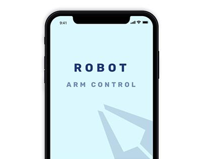 App for Robotic Arm Controller