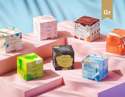Free O'clock tea brand packaging (Hong Kong)
