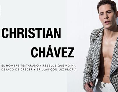 Christian Chavez for Hombre Testarudo by Milo Miranda