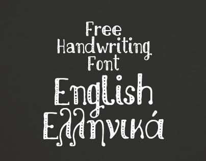Nikolaidis Handwriting Lettering font