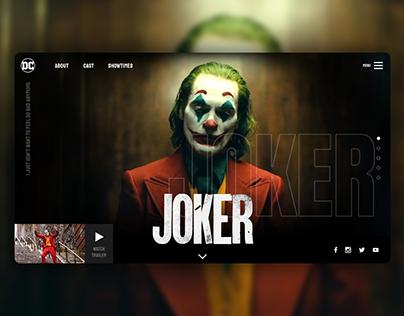 Joker Website Design