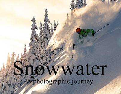 Snowwater a photographic journey