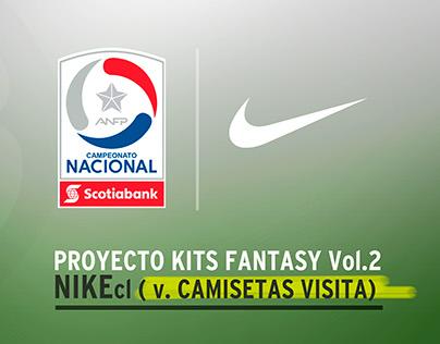 NIKEcl Vol.2 Camisetas Away