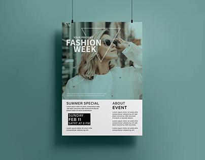 Minimalist Fashion Poster