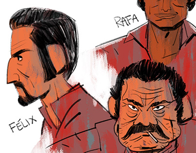 Narcos Mexico - Sketch