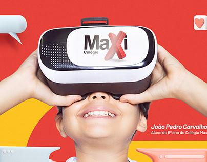 Colégio Maxi / Campanha Escola Referência Google