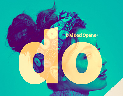 Divided Opener   After Effects Template.
